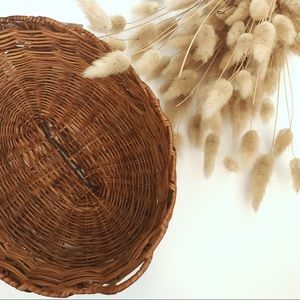 Small Handwoven Wicker Basket